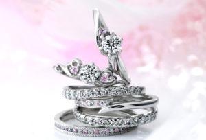 【広島】結婚指輪で人気のピンクダイヤモンドって知ってる?花嫁指名率ナンバー1のMILK&strawberryの魅力♡