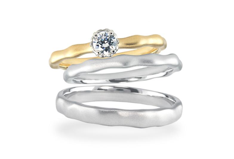 【福岡県久留米市】自分だけのあじのある結婚指輪!!