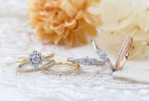 【静岡市】高品質のダイヤモンド『ハート&キューピッド』って知ってる?H&Cを使用した結婚指輪が人気!