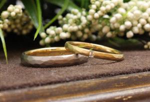 【浜松市】ゴールドの結婚指輪をお得に購入する。高品質でも安く結婚指輪を購入できるブライダルジュエリー専門店。