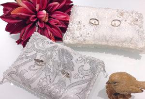 【金沢市】結婚式の必需品、リングピローをGoogle口コミ投稿でプレゼント!