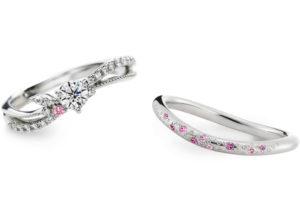 【大阪】ブルー派?ピンク派?婚約指輪を彩るカラーダイヤモンド
