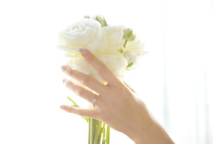 【浜松市】お洒落な女性に人気のお洒落を楽しむブランドJUPITER『BLANTELIE』の婚約指輪