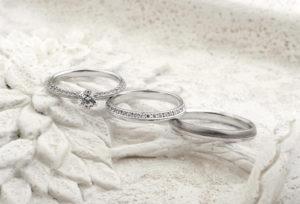 【浜松市】お洒落を楽しむ女性に大人気!細身デザインの結婚指輪。