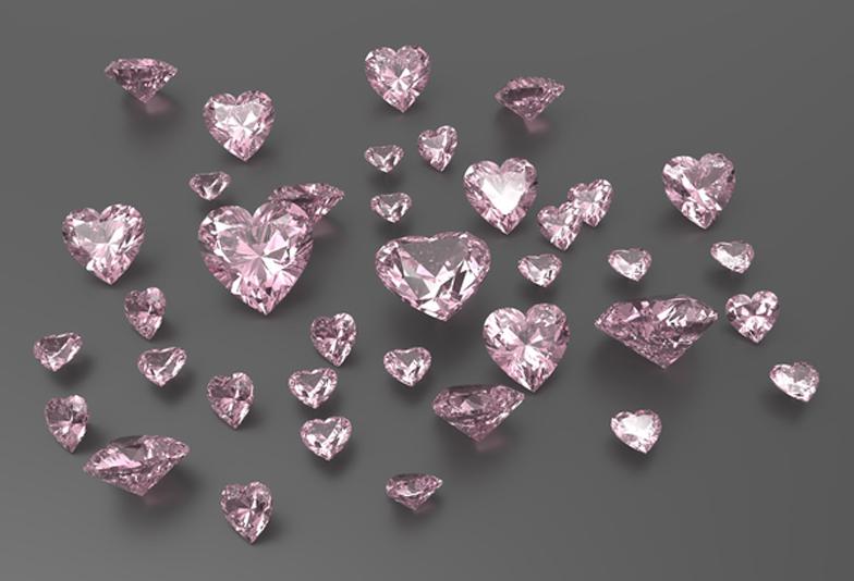 【福岡県久留米市】優しさを象徴するピンクダイアモンドの結婚指輪!!