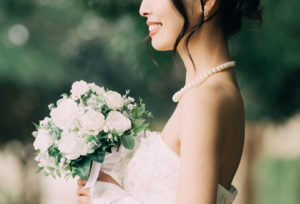 【福岡県久留米市】花嫁の必需品♡パールのネックレス♪