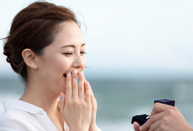【静岡市】サプライズプロポーズはどうやってする!?婚約指輪、プロポーズアイテム、ダイヤモンドの種類など一挙にご紹介!