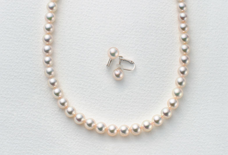 【静岡市】カジュアルにも上品にもコーディネートできる真珠ネックレス