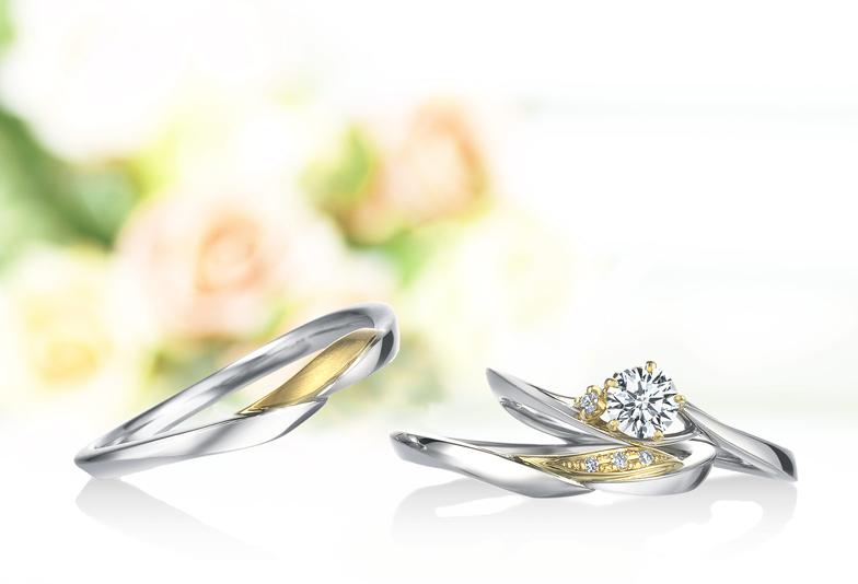 【静岡市】プラチナとゴールドのコンビネーション!婚約指輪はオシャレブランド「ラパージュ」を選ぼう