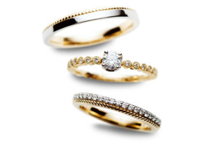 【富山市】結婚指輪「ミル打ち」の魅力
