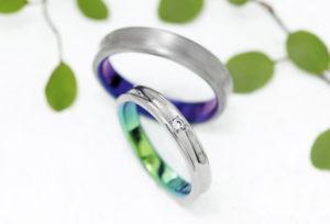 【富士市】オーダーメイドでカラー豊富な結婚指輪を♡SORAで叶える個性的なデザイン