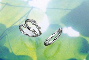 【大阪・梅田】人とはかぶりたくない!デザイン性の高い結婚指輪♡