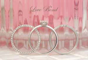 【豊橋市】お洒落を楽しみたい女性へ。お洒落な婚約指輪・結婚指輪ブランドLOVE BOND