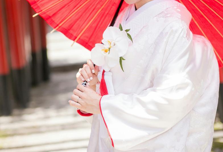 【静岡市】桜の時期に和装で結婚式