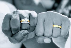 【金沢市】普段使いしやすい!ハーフエタニティタイプの結婚指輪💛