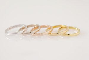 【福岡県久留米市】様々な「シンプル」な結婚指輪✨