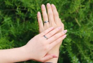 【静岡市】金属アレルギーも解決!「チタン」の結婚指輪とは?