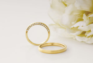 【広島市】リーズナブルで縁起が良い結婚指輪「8オクターブ」