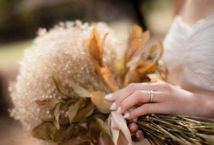 【福山市】私はシャンパンゴールド派♡結婚指輪はゴールド系が可愛くてオシャレ
