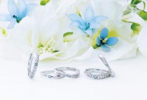 【広島市】ピンクダイヤモンド派?ブルーダイヤモンド派?結婚指輪を彩るカラーダイヤモンド