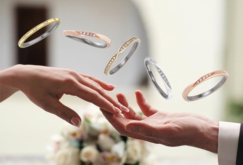 【広島市】アレルギーフリーの結婚指輪!チタンで出来たTO TWO(トゥトゥ)のリングをご紹介!