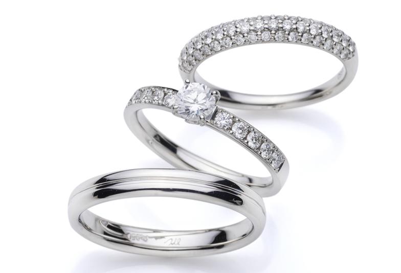 【富士市】婚約指輪と結婚指輪のセットでゴージャスなものを探しています!どんなデザインがあるのでしょうか?