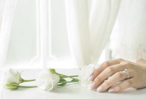 【静岡市】幸せな思い出を受け継ぐジュエリーリフォーム・・・母の婚約指輪を妻の婚約指輪へ