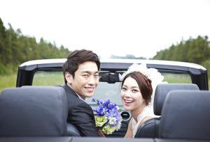 【広島市】花嫁が幸せになれるおまじない。サムシングブルーの結婚指輪