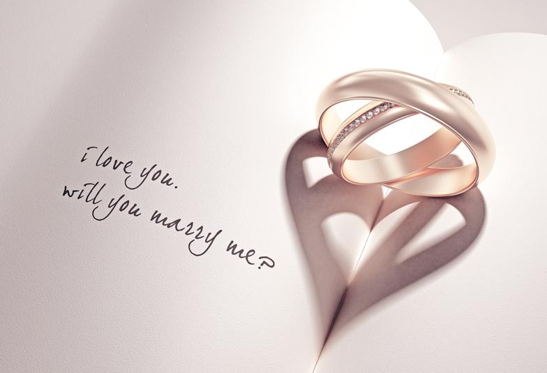 【静岡市】ゴールド系の結婚指輪が人気♡