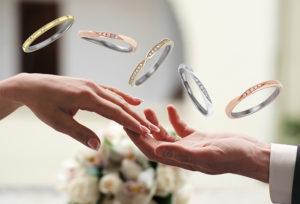 【福井市】5月1日に入籍♡入籍日までに結婚指輪を用意!