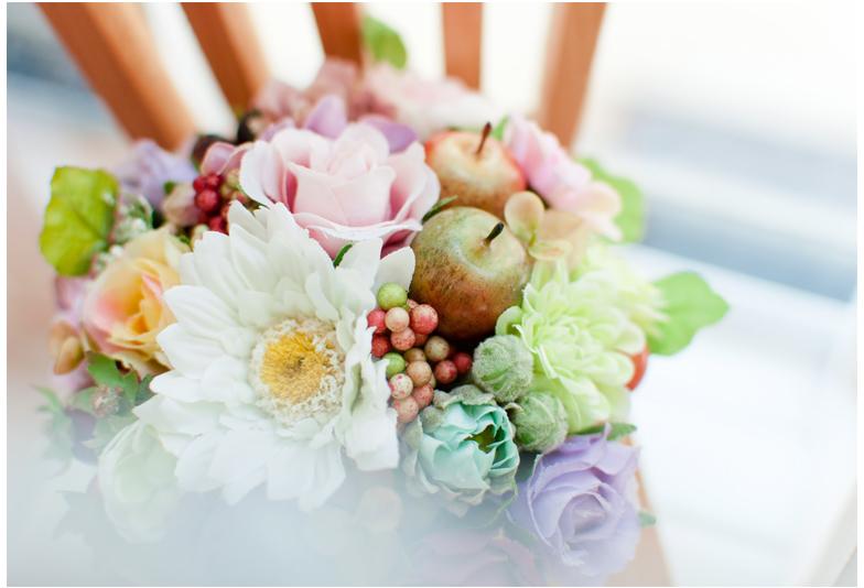 【福山市】おしゃれ花嫁は婚約指輪と結婚指輪の重ね付けをしていた♡