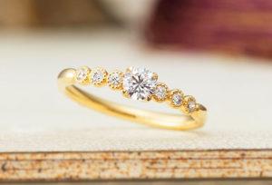 【福山市】安くて可愛い婚約指輪♪デザインで周りと差をつけよう!