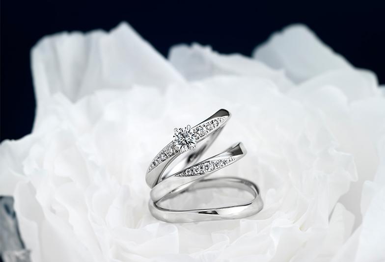【広島市】結婚指輪は女性の魅力を引き立てる高品質のダイヤモンドで。