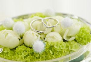 【福山市】お洒落な女性に大人気!着け心地と強度も完璧な細みデザインの結婚指輪♡