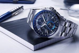 【静岡市】Bluetooth搭載!オシアナス 電波ソーラー腕時計が狙い目!
