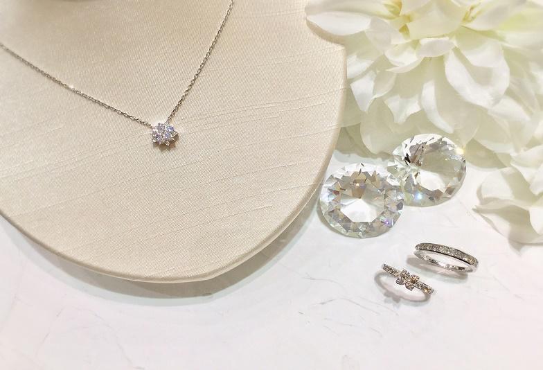 大阪結婚10周年ネックレス指輪