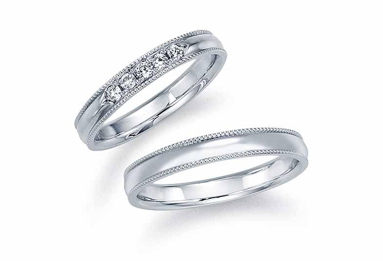 金沢市け婚指輪 モニッケンダム結婚指輪 金沢市モニッケンダム