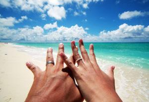 【福島市】本当?ハワイアンジュエリーの結婚指輪が2本で10万円台