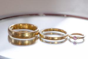 【新潟市】知ってた?結婚指輪はプラチナだけじゃない ゴールド系の結婚指輪が人気