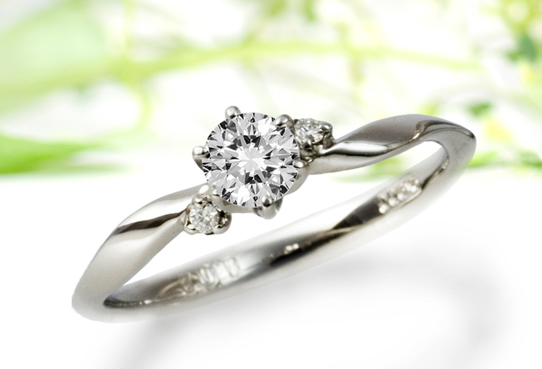 大阪岸和田市和泉市堺市和歌山婚約指輪結婚指輪シンプル