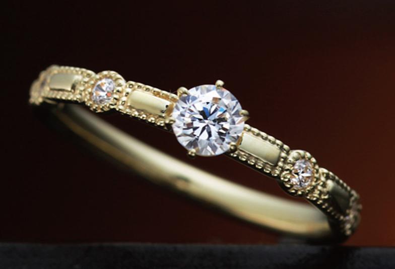 婚約指輪リフォームゴールドアンティーク