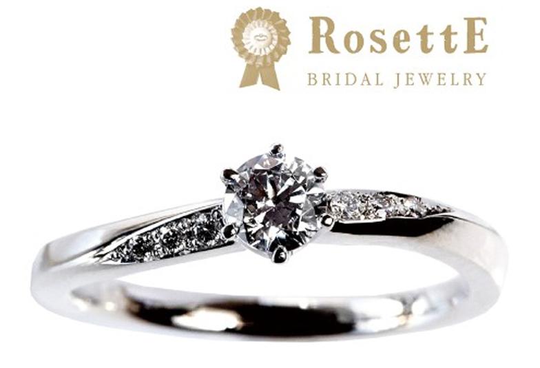 婚約指輪リフォームプラチナシンプル