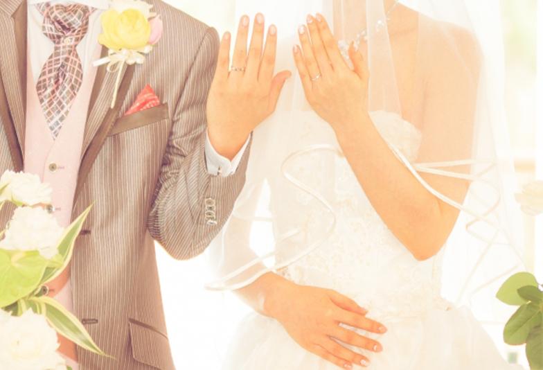 【加古川市】結婚指輪の内側にそっとセットする、2人の永遠を誓う双子ダイヤモンド