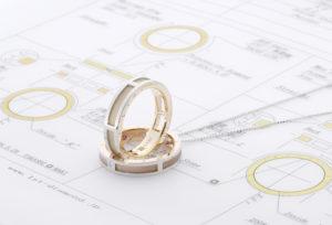 【浜松市】結婚指輪選び。パートナーと好みが合わない・・・を解決する「オーダーメイド」とは?