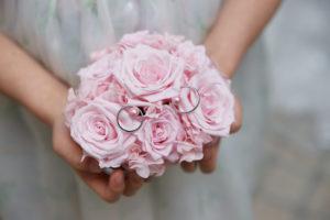 【福山市】結婚指輪にこそピンクダイヤモンドの淡い輝きを♡