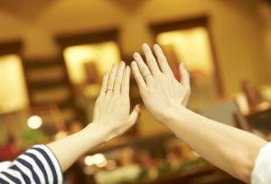 【福岡県久留米市】おしゃれで個性的な結婚指輪!