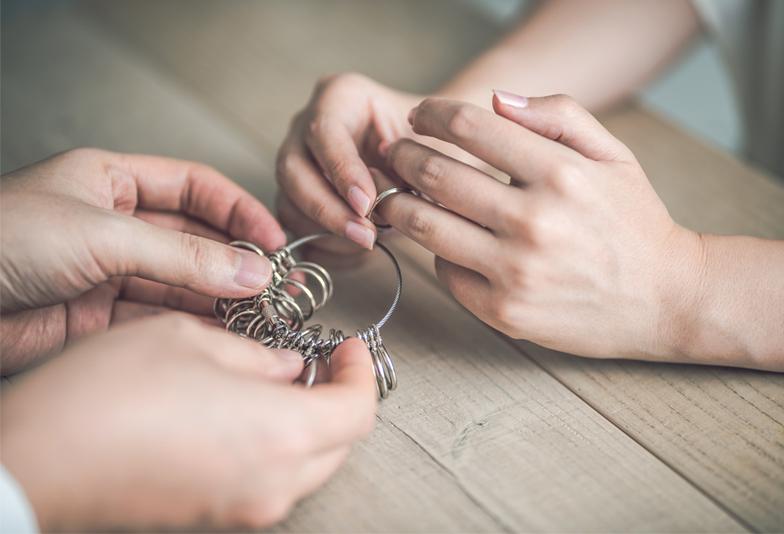 【新潟市】結婚指輪のサイズ直しはできる?サイズの変更に関する不安解消