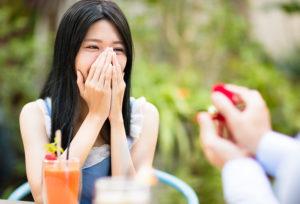 福島県郡山市|女性にプロポーズする時期はいつがベスト!