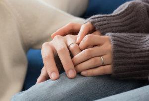 【静岡市】傷がつかない結婚指輪!?鍛造づくりの結婚指輪