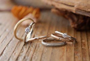 【静岡市】飾らないナチュラルなお二人に贈る「BAUM」の結婚指輪